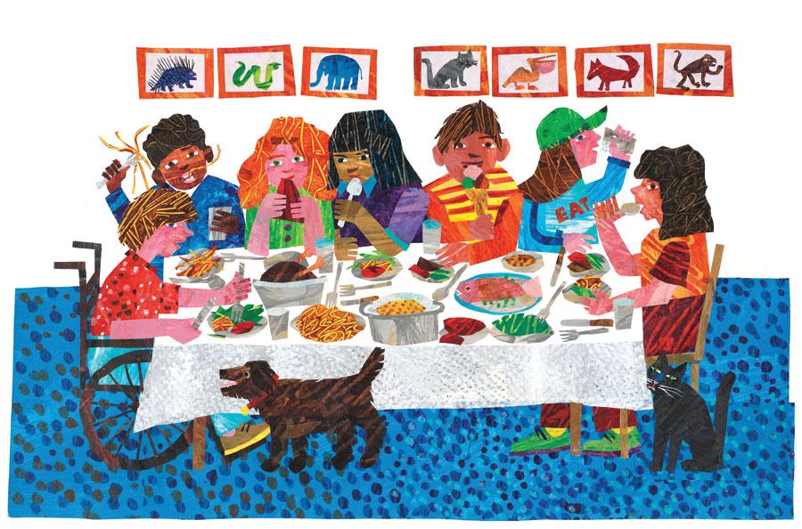 Libri & cibo di Eric Carle