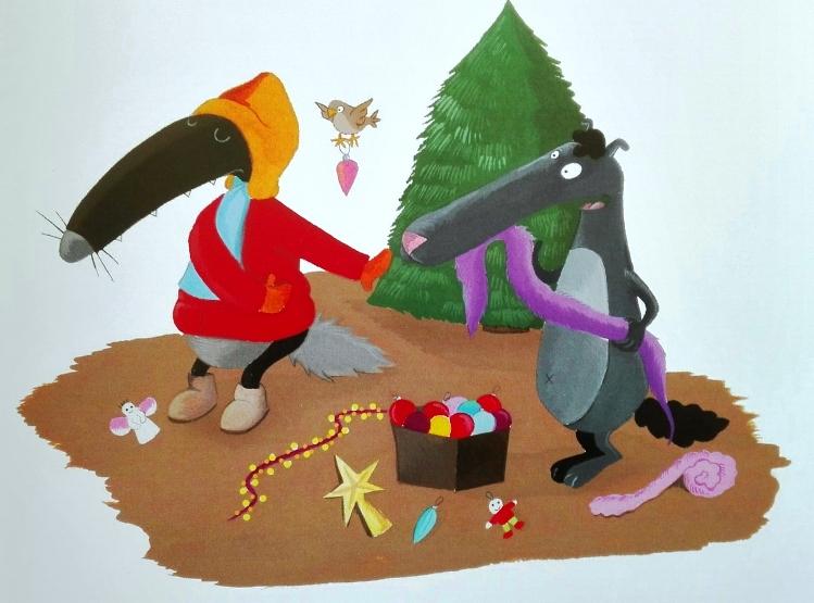 Il Lupo che non amava il Natale